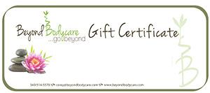 BB gift certificate